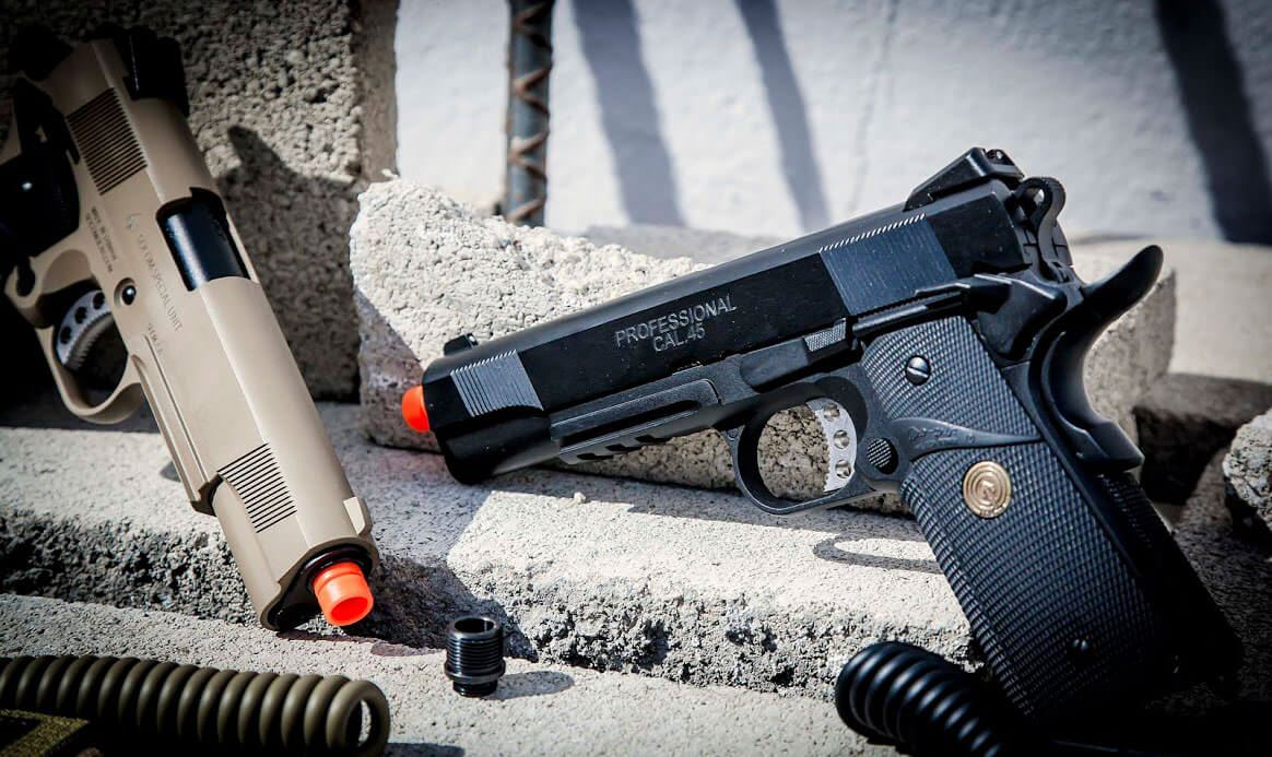 Picture for category Airsoft Pistol