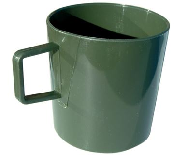 Picture of PLASTIC MUG OLIVE
