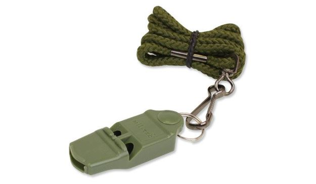 Picture of SURVIVAL WHISTLE + COMPASS