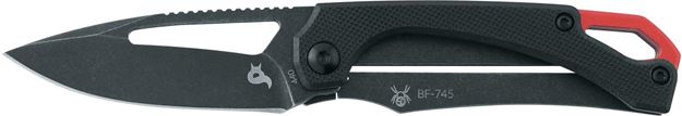 Picture of BLACKFOX BLACK FRAME FOLDING KNIFE