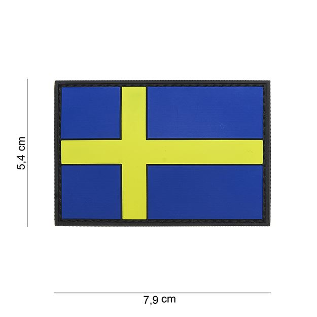Picture of PVC PATCH SWEDEN FLAG