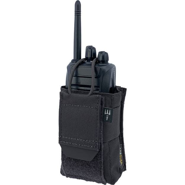 Picture of PITCHFORK RADIO POUCH BLACK