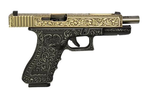 Picture of WE GLOCK 23 IVORY MK4 GAS