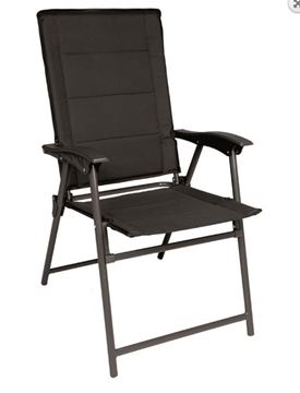 Picture of BLACK ARMY FOLDING CHAIR