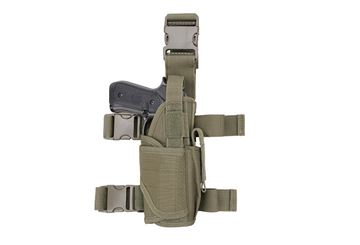 Picture of DROP LEG HOLSTER OLIVE CORDURA