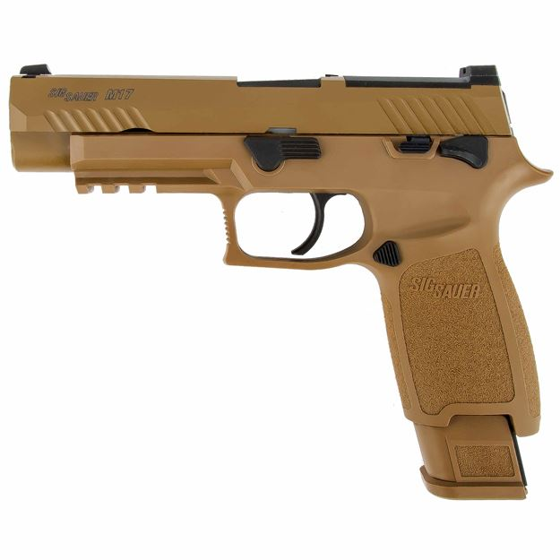 Picture of SIGSAUER P320 TAN PISTOL