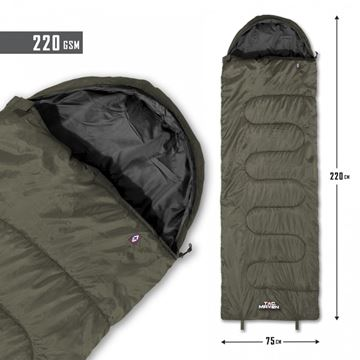 Picture of SENTINEL SLEEPING BAG 220GSM